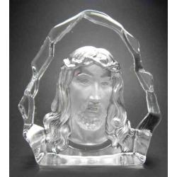 Glas Jesus ornament, L