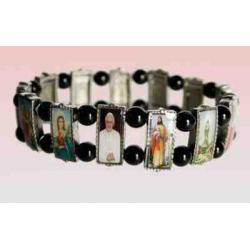 Religiøse armbånd med ikoner, e
