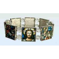 Religiøst armbånd med ikoner, f