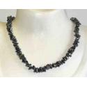 Hæmatit luksus halskæde