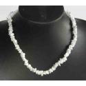 Howlit luksus halskæde