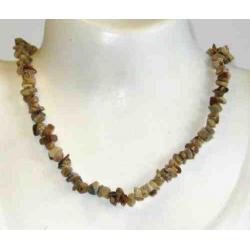 Landskabs Jaspis halskæde
