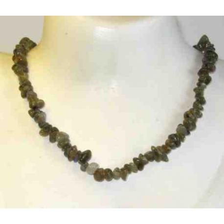 Labradorit halskæde