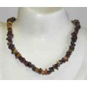 Mookait lux halskæde