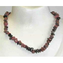 Rhodonit halskæde