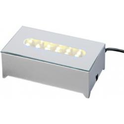 LED Lysboks med hvidt lys, 12 dioder