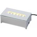 LED Lysboks, aflang med hvidt lys