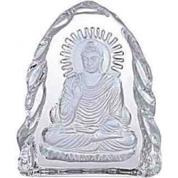 Buddha i glas ornament