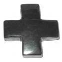 Hæmatit kors vedhæng