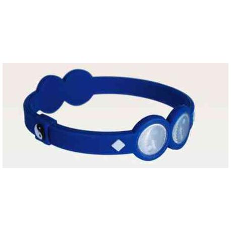 Energi armbånd, blå, L