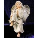Engel med due, siddende #2