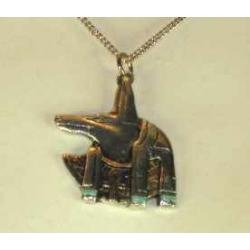 Egyptisk Anubis vedhæng