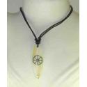 Talisman halskæde med mønster