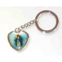 Religious keychains, St. Bernadette