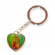 Religious keychain, St. Martha