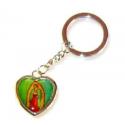 Religiøs hjerte nøglering, St. Martha