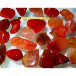 Rød Chalcedon