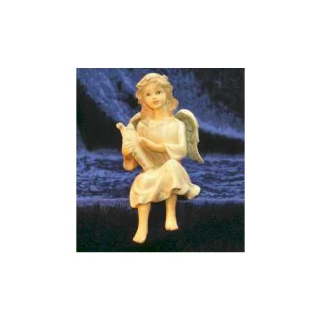 Engel med harpe