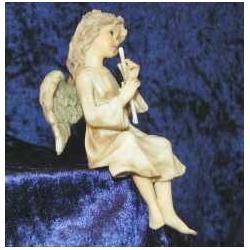 Engel med fløjte