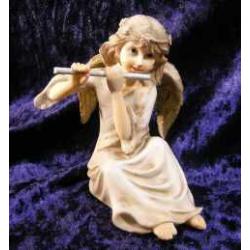 Engel som spiller fløjte