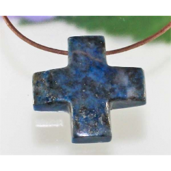Lapis Lazuli kors vedhæng