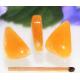 Orange Calcit vedhæng