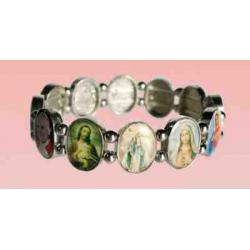 Religiøst armbånd med ikoner, d