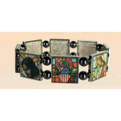 Religiøse armbånd med ikoner, c