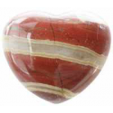 Jaspis hjerte, 45 mm.