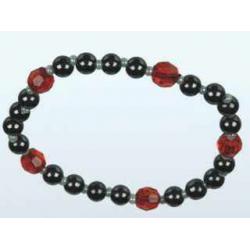 "Bio-Magnetic Bracelet Hematite ""R"""