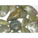 Grøn Serpentin poleret gemstone