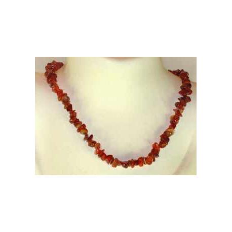 Karneol halskæde