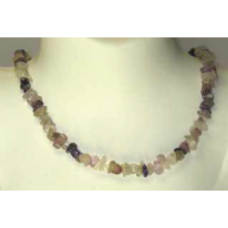 lux halskæde med Fluorit