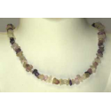 Fluorit luksus halskæde