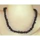 Onyks sort halskæde