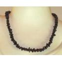 Onyks sort luksus halskæde