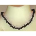 Lux halskæde Midnightstone