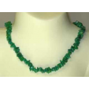 Amazonit luksus halskæde