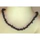 Granat halskæde