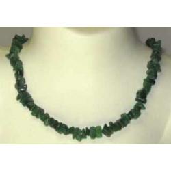 Halskæde Aventurin grøn
