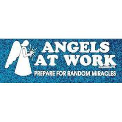 Angels at work - Klistermærke