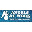 Bumper sticker Angels at work