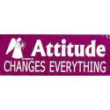 Attitude Changes - Klistermærke