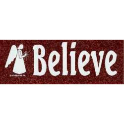 Believe - Klistermærke