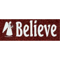 Bumper sticker Believe