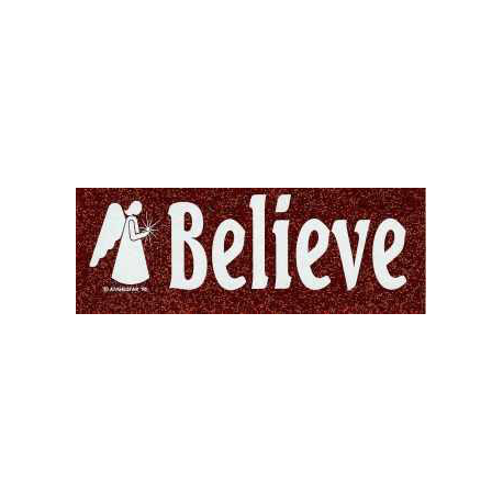 Bumper sticker Believe