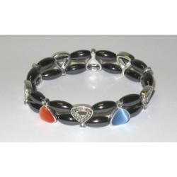 Magnetterapi armbånd med cateye perler