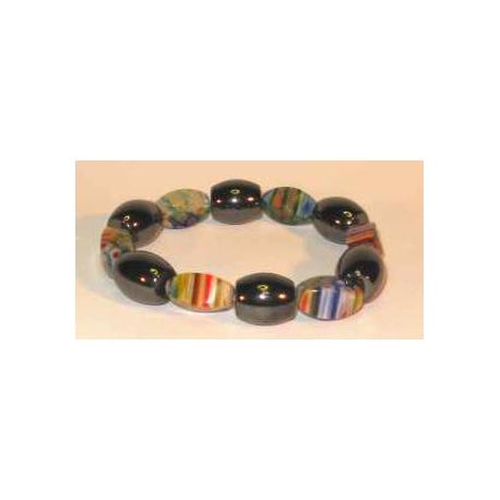 Magnetarmbånd med farvede perler