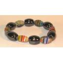 Magnetterapi armbånd + farvede perler