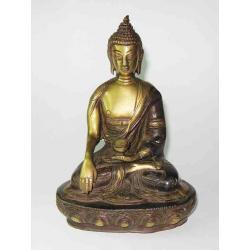 Buddha 18 cm. Bronze